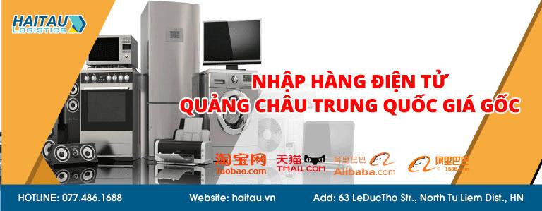 Nhập hàng điện tử Quảng Châu Trung Quốc giá gốc