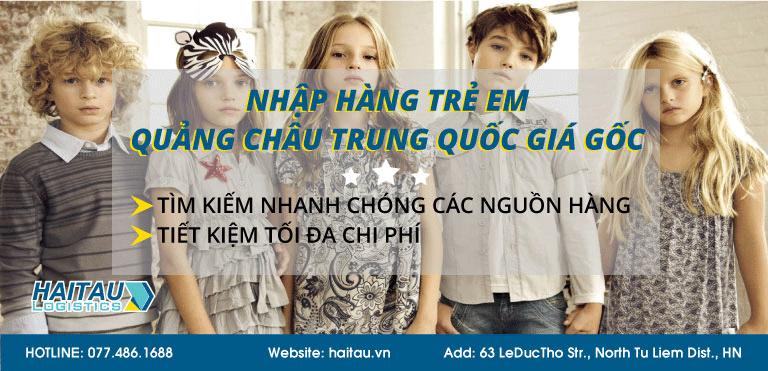 nguồn hàng trẻ em, thời trang quần áo Quảng Châu