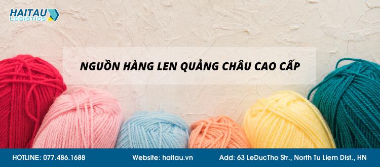 Nhập len Quảng Châu số lượng lớn trên Taobao, Tmall