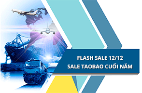 Flash Sale 12/12 - Sale khủng Taobao cuối năm