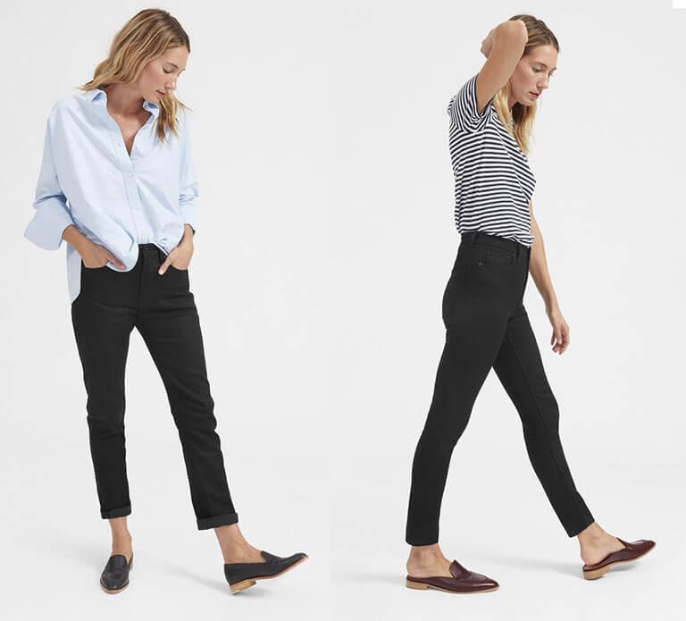 Mẫu quần jean Quảng Châu đơn giản, trẻ trung