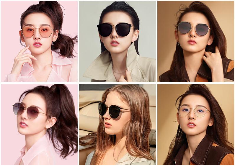Kính mắt thời trang đa dạng nhiều kiểu dáng