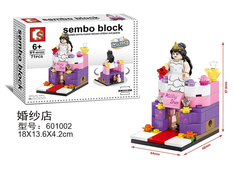 Đồ chơi xếp hình Lego Trung Quốc phù hợp với mọi lứa tuổi
