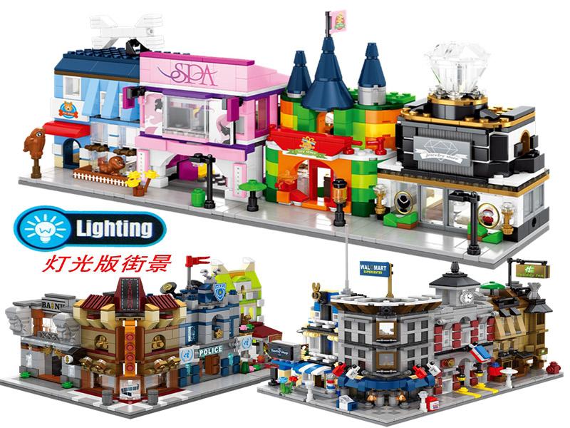 Đồ chơi xếp hình Lego Trung Quốc - đồ chơi sáng tạo