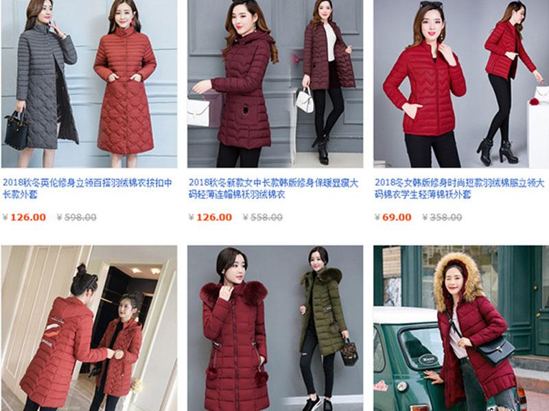 Mua áo phao nữ giá rẻ, chất lượng trên các website TMĐT về kinh doanh