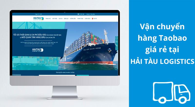 Đặt hàng Taobao qua Hải Tàu Logistics