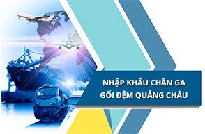 Nguồn nhập khẩu chăn ga gối đệm Quảng Châu giá gốc