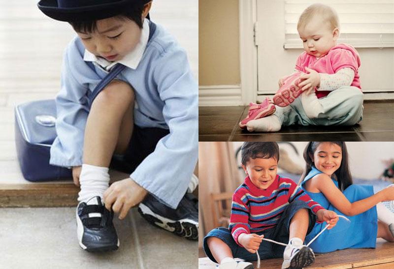 Đo size giày trẻ em