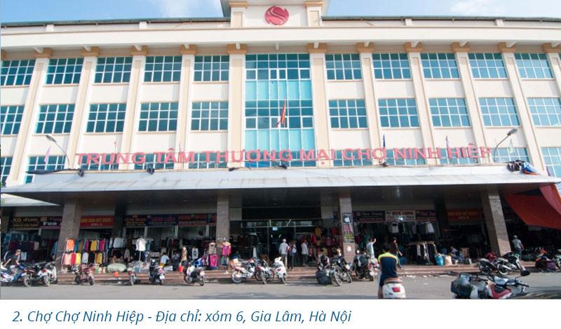 Lây sỉ quần áo tại chợ Ninh Hiệp