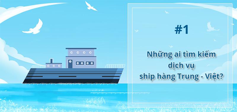 Những ai sử dụng dịch vụ ship hàng từ Trung Quốc về Việt Nam