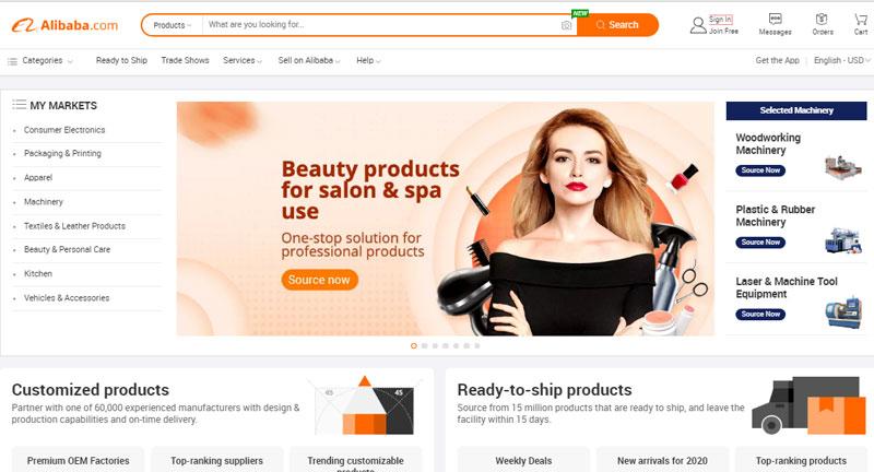 Tạo tài khoản mua hàng trên Alibaba