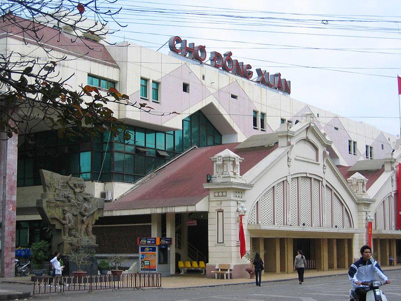 Nhập sỉ hoa sáp Hà Nội tại chợ Đồng Xuân