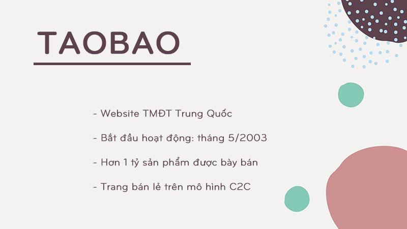 Nhập hàng trên taobao.com