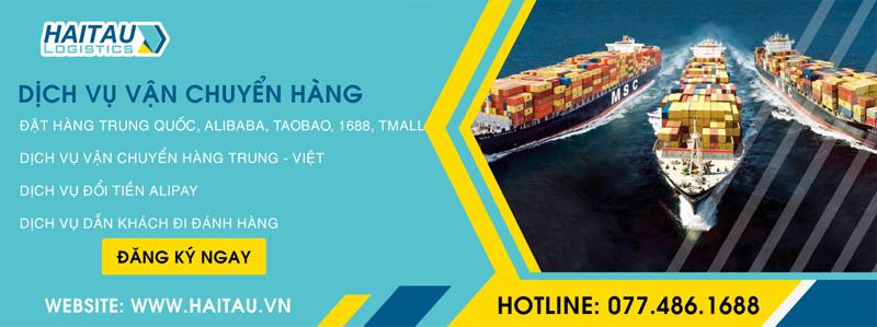 Nhập hàng Trung Quốc giá rẻ trên website thông qua Hải Tàu Logitics