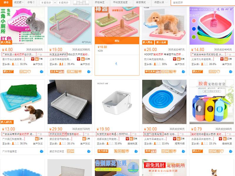 Đặt mua phụ kiện chó mèo trên website 2