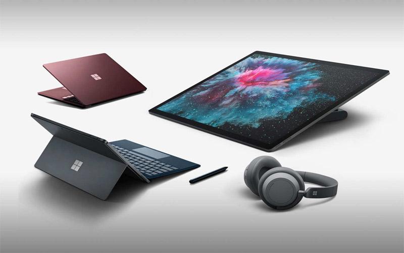 Surface Pro 6 và Laptop 2 ra mắt cùng một thời điểm