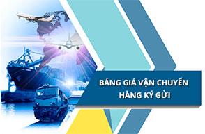 BÁO GIÁ ký gửi hàng Trung Quốc về Việt Nam qua haitau.vn