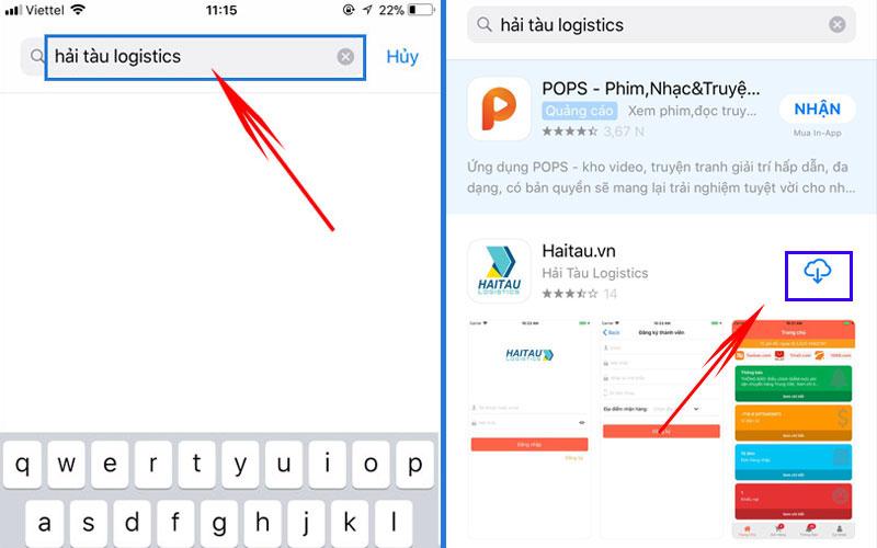 Tải app mua hàng Trung Quốc HAITAU