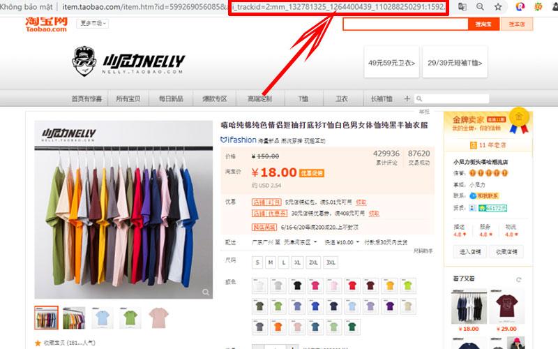 Mua hàng Taobao giá rẻ nhận chiết khấu
