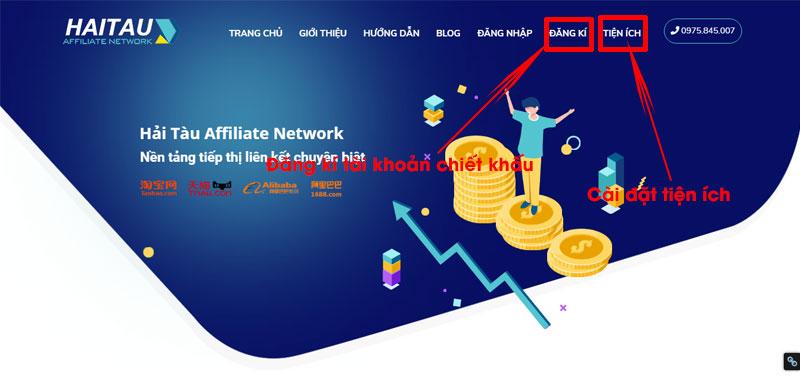 Trang web chiết khấu Hải Tàu