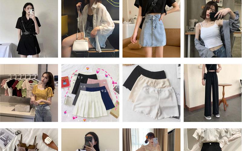 Sản phẩm quần áo của shop Miss Cocory