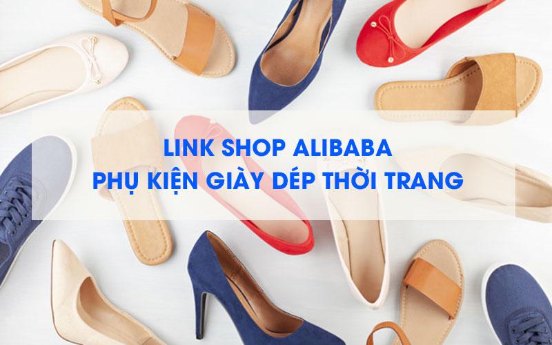 Nguồn hàng phụ kiện giày dép trên Alibaba