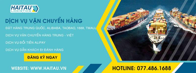 Dịch vụ nhập hàng Trung Quốc HAITAU.VN