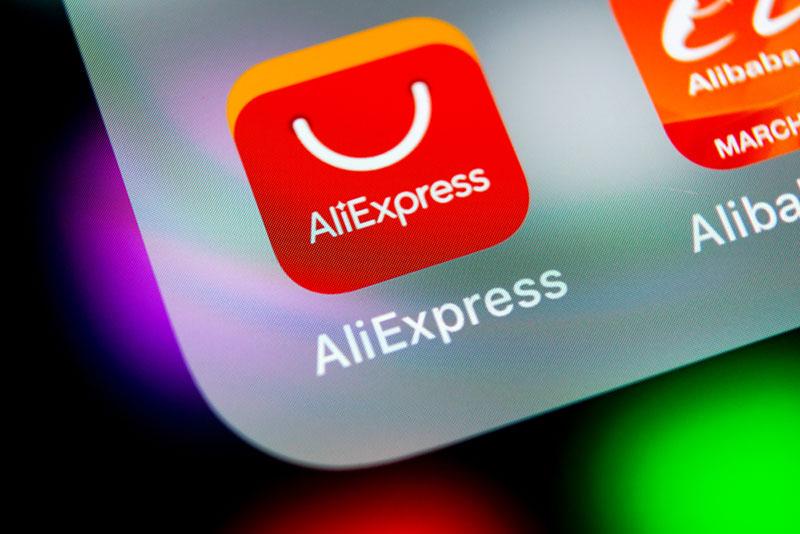 Website trực tuyến Aliexpess