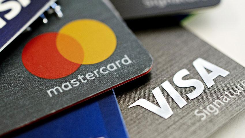 Thanh toán bằng thẻ Visa, MasterCard