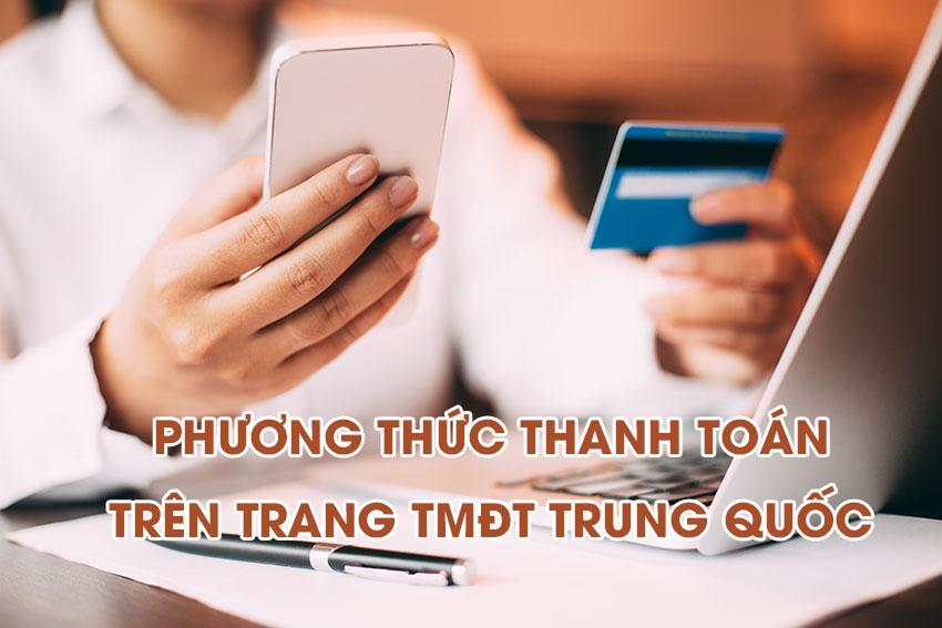 Thanh toán trên trang TMĐT Trung Quốc